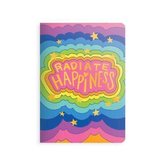 Radiate Happiness - Jot-it! Notebook