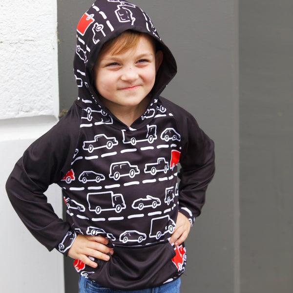 Kids Cars & Trucks - ComfyCute Hoodie