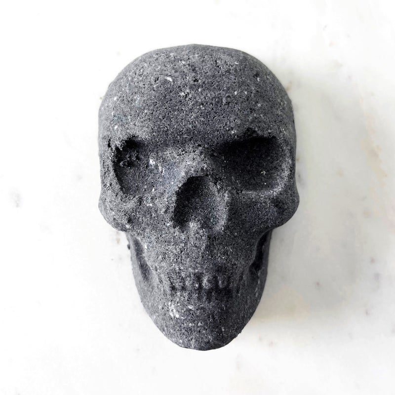 Feel Like Death - Activated Charcoal Skull Bath Bomb