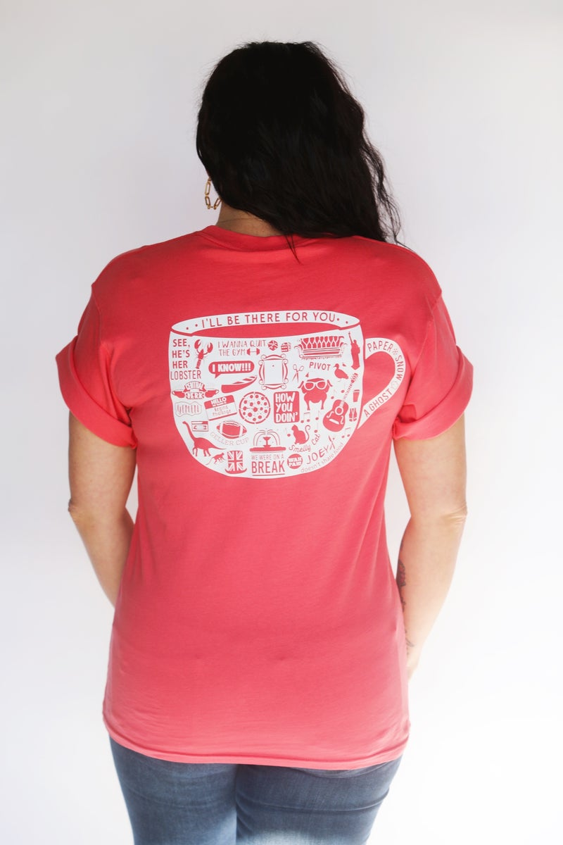 They Don't Know That We Know They Know We Know  FRIENDS - Short Sleeve / Pocket Crew Shirt - JLB