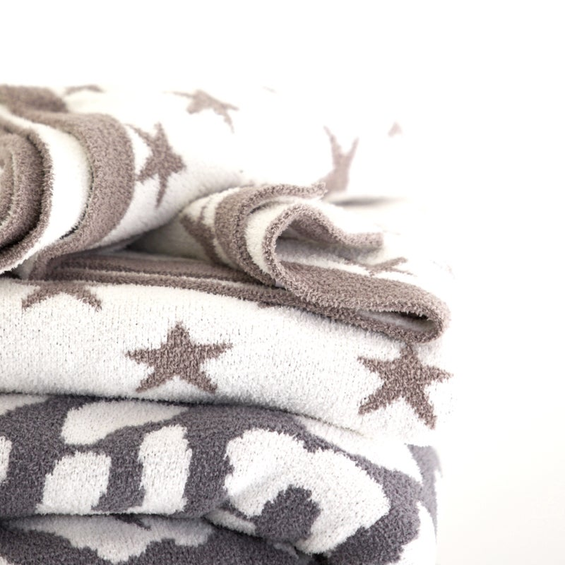 The Luxe Blanket - Stars or Leopard