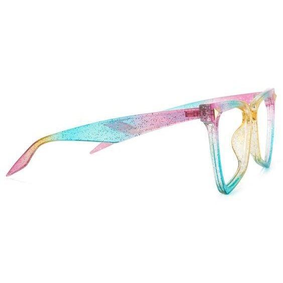 Playing Hooky - Rainbow Glitter BlueLight Blocking Glasses