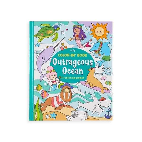 Outrageous Ocean - Coloring Book