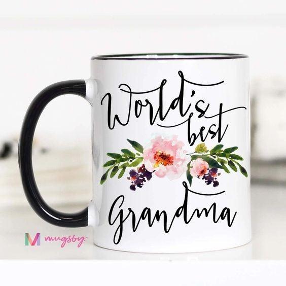 World's Best Grandma - 11oz - Mugsby