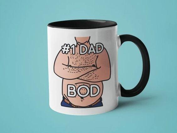 #1 Dad Bod - 11oz Mug