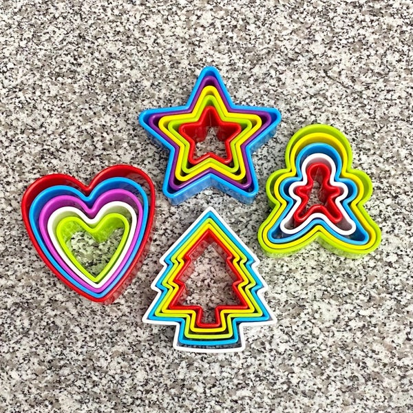 Holiday Cookie Cutter - 5 Piece Sets