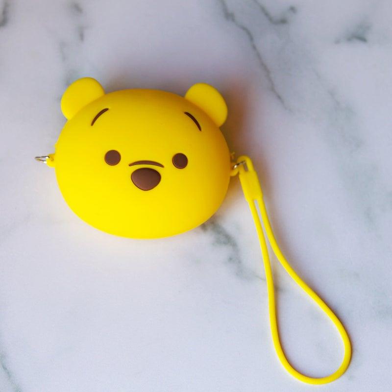 Winnie the Pooh - Kawaii Style Coin Purse w/Lanyard