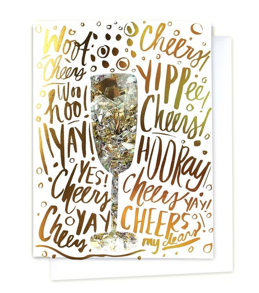 Celebration - Confetti Card