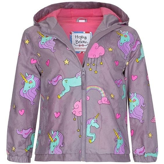 Kids - Color-Changing Raincoat - Unicorn