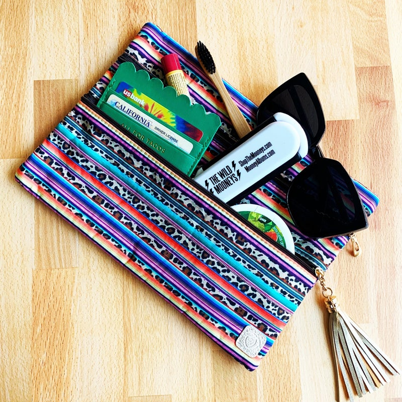 All For Tacos - Scalloped Card Wallet