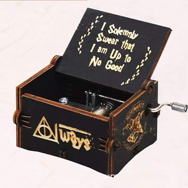 Harry Potter - Hand Crank Tiny Music Box