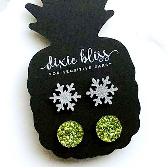 Winter - Earrings Duo