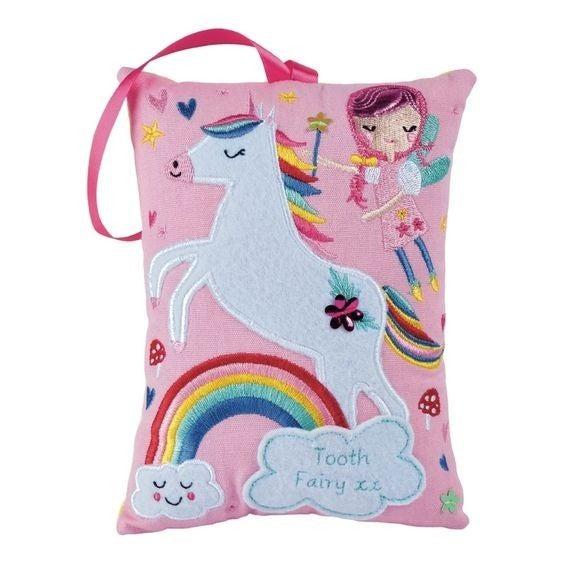 Rainbow Fairy - Hanging Tooth Fairy Cushion