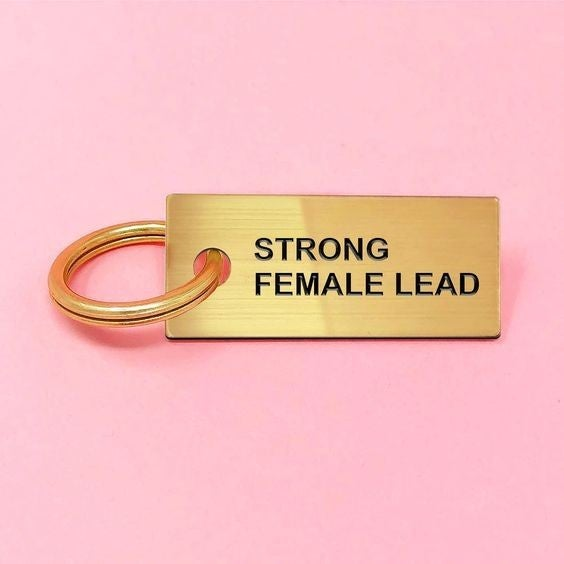 Strong Female Lead - Key Tag
