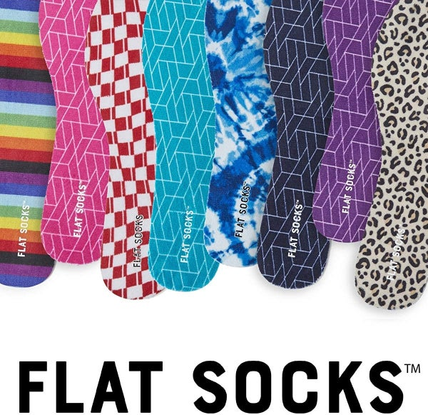 Flat Socks - the BEST truly no-show socks ever!