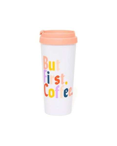 But First Coffee - Hot Stuff Thermal Travel Mug