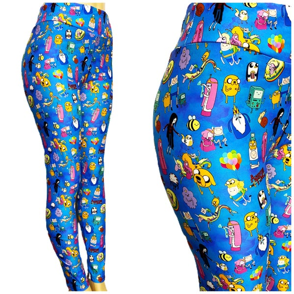 Adventure Time - Leggings - Reg/Plus