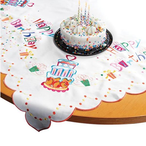 Keepsake Happy Birthday Table Topper