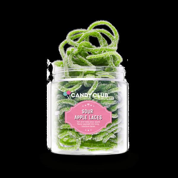 Sour Apple Laces - Candy Club