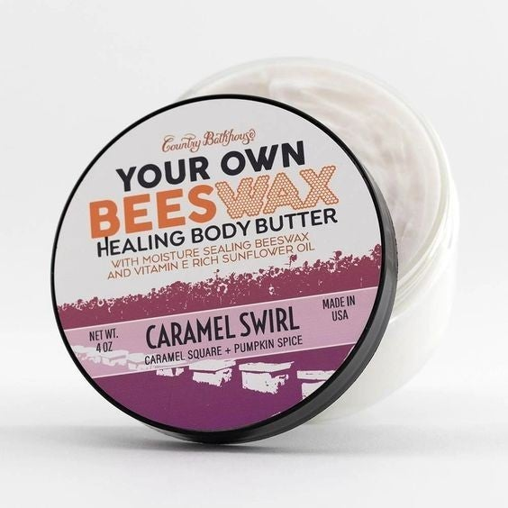 Your Own Beeswax Body Butter - Caramel Swirl