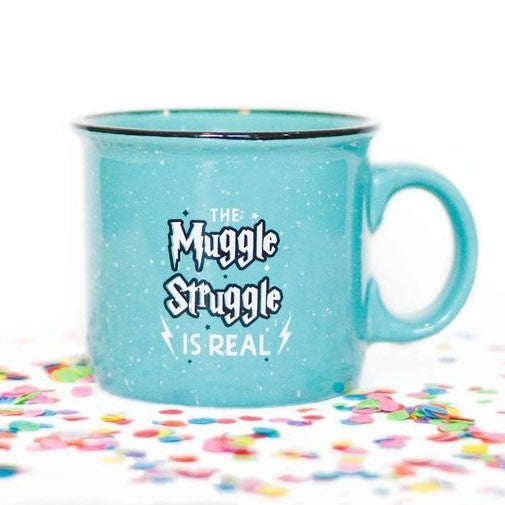 Muggle Struggle is Real - Ceramic Mug - JLB - RESTOCKING SOON!