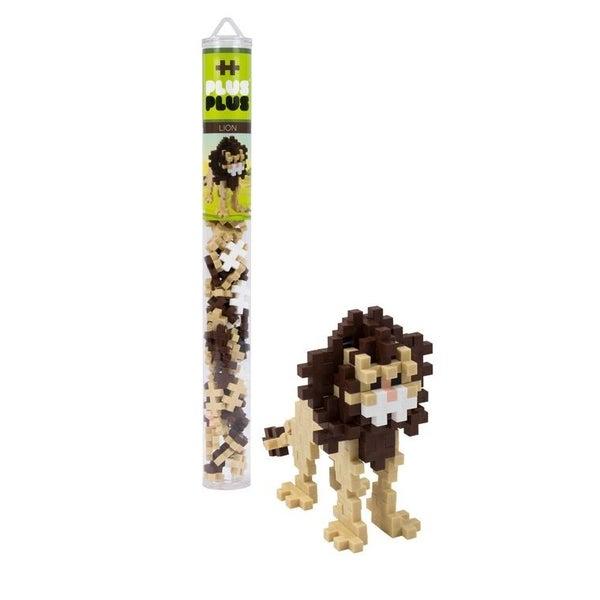 Lion - Plus-Plus 70 piece Tube