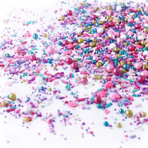 Hey Sugar! - 4oz Jar Bespoke Sprinkles