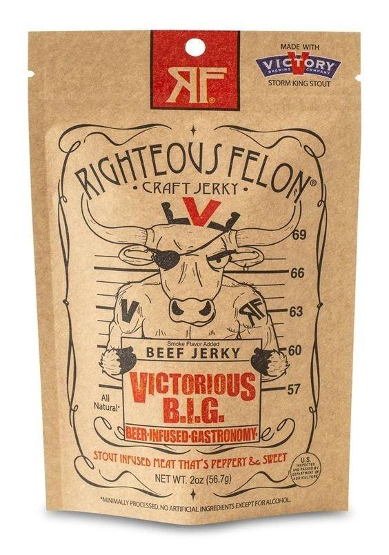 Righteous Felon Craft Jerky