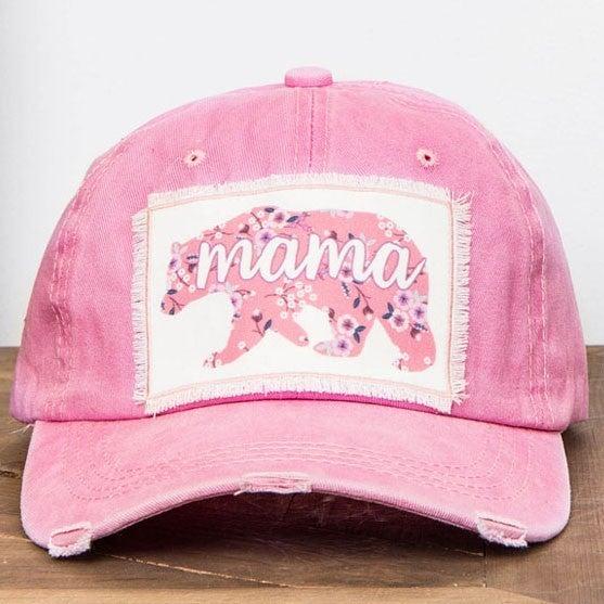 Pink Mama Bear Hat