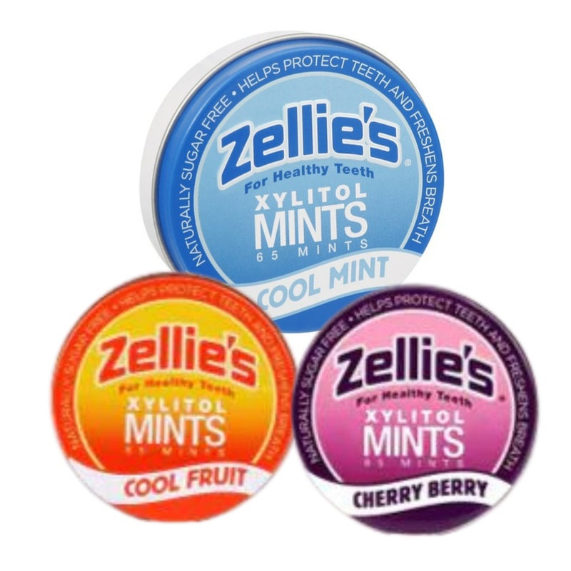 Zellie's Mints - with Xylitol