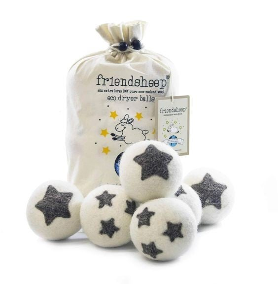 Katie's FAVE! Wool Dryer Ball 6 Packs!