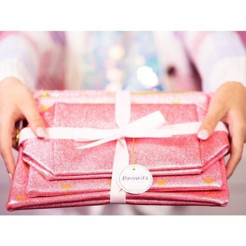 All Dolled Up - Make-Up Bag Trio in Pink