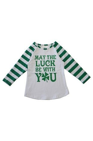Kids - May The Luck Be With You Tee
