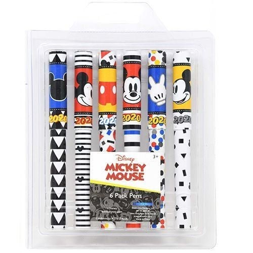Mickey Mouse - Pen 6 Pack