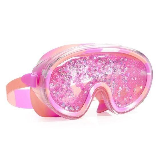 Pink Sand Castles - Premium Kids Swim Mask