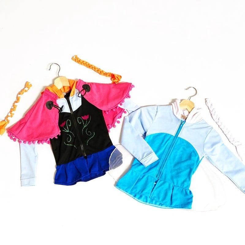 Ana & Elsa - Cosplay Hoodies
