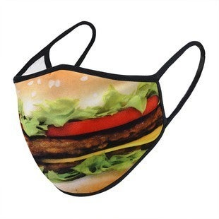 Cheeseburger - Fashion Face Protector