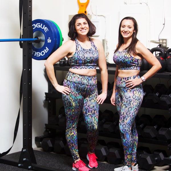 Rainbow Snakeskin - Active Workout Separates