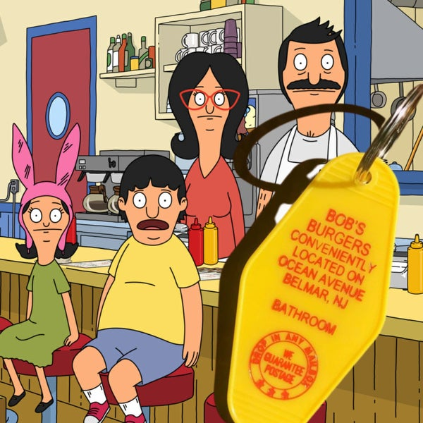 Bob's Burgers - Motel Key Fob