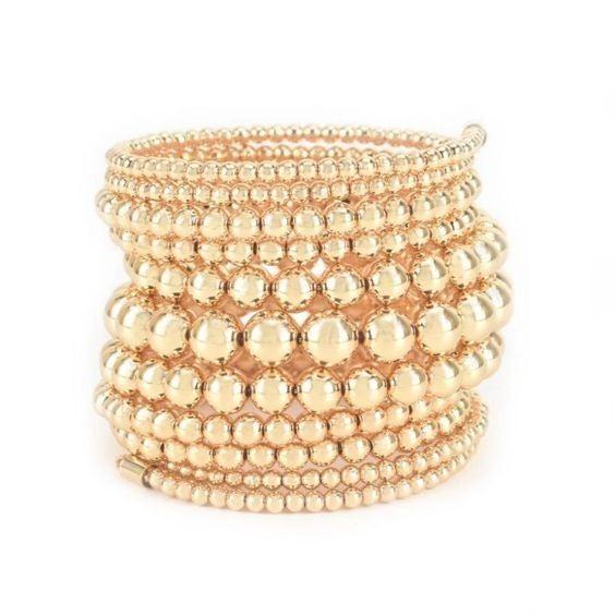 Super Stacked Beaded Bracelet