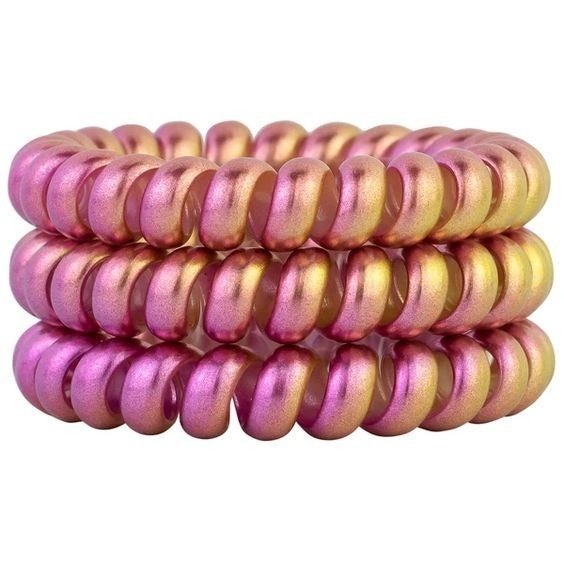Pink Lemonade - Ouchless Coil Hair Tie Set