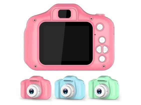 Kids Digital Camera - includes SD card