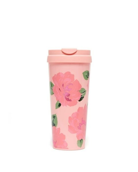 Rosé & Roses - Hot Stuff Thermal Travel Mug