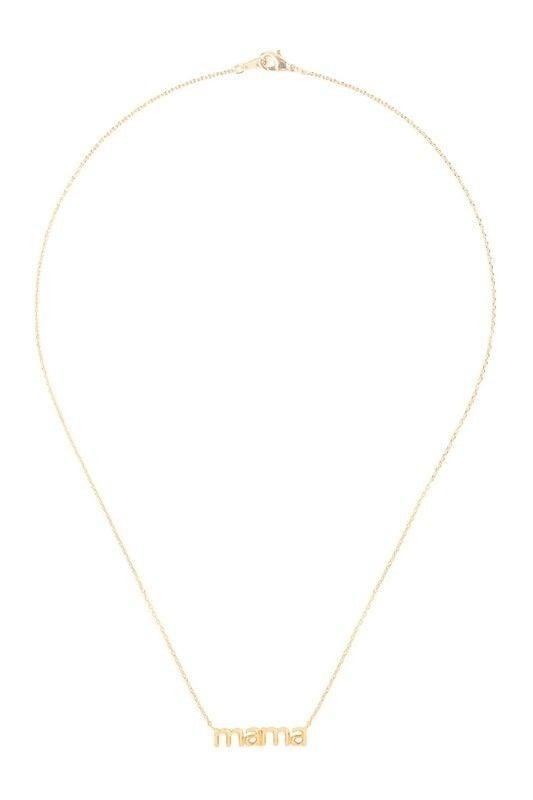 MAMA Pendant Necklace