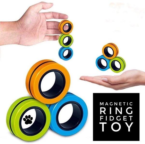 Magnetic Ring Trio - Fidget