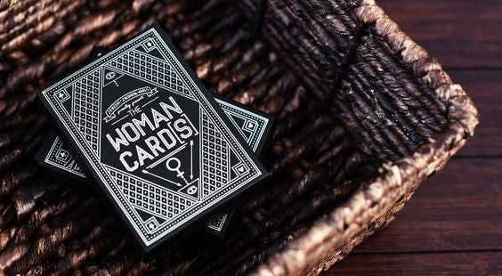 The Woman Cards - Premium Playing Cards