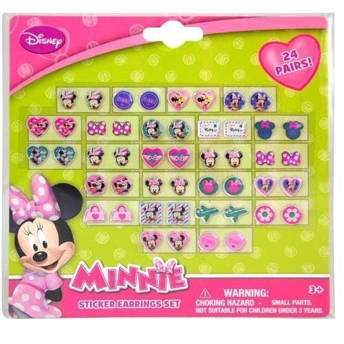 Minnie's Bowtique - 24 Pair Sticker Earring Set