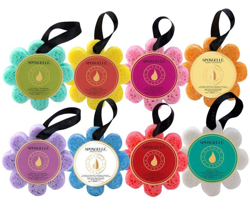 14+ Wash Flower - Spongellé - Premium Infused Bath Sponge