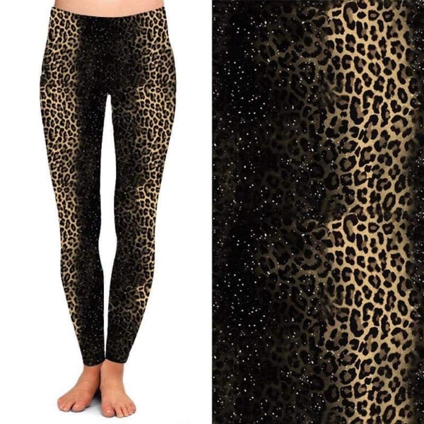 Stardust Leopard - Leggings