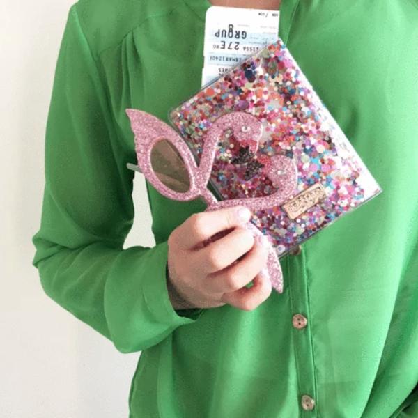 Confetti Passport Holder